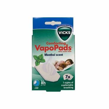 VICKS COMFORTING VAPOUR PADS 7 REFILLS