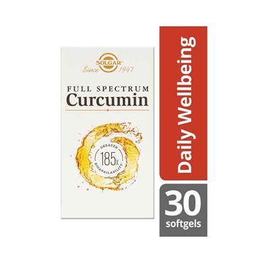 SOLGAR CURCUMIN 30 SOFTGEL