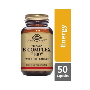 SOLGAR FORMULA VITAMIN B COMPLEX 100 V 50 E1149
