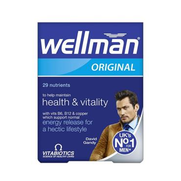 VITABIOTICS VITABIOTICS WELLMAN ORIGINAL 30 TABLETS