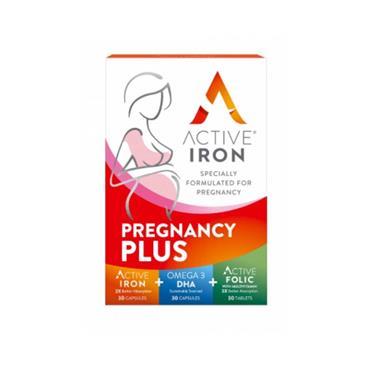 ACTIVE IRON PREGNANCY PLUS 90CAPS