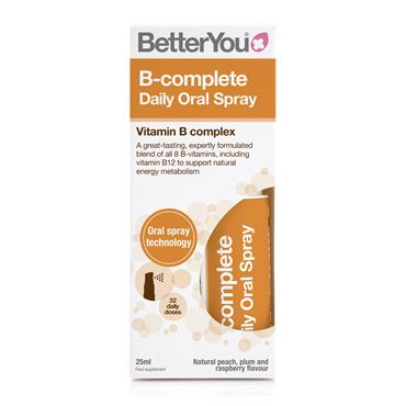 BETTER YOU VITAMIN B-COMPLETE DAILY ORAL SPRAY 25ML