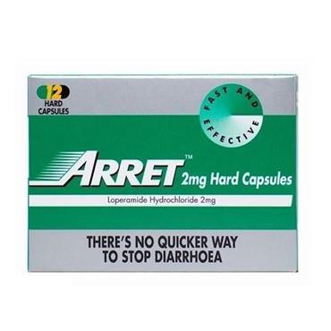 ARRET 2MG HARD CAPSULES