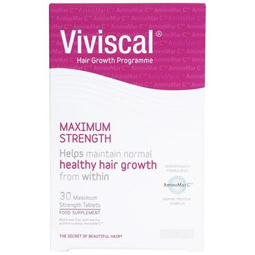VIVISCAL MAX STRENGTH HAIR GROWTH SUPPLEMENT