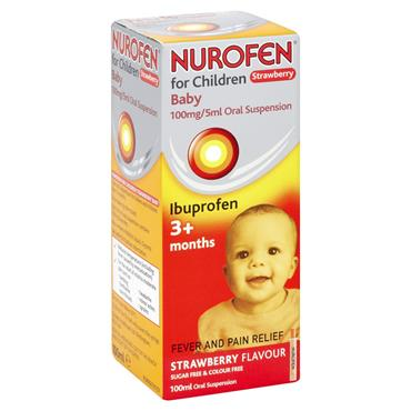 NUROFEN FOR CHILDREN 3M+ STRAWBERRY