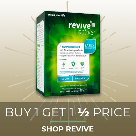 Buy 1 get 1 half price on Revive - Shop Now