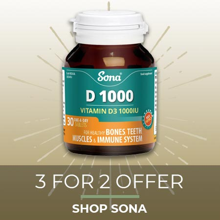 3 for 2 on Sona - Shop Now