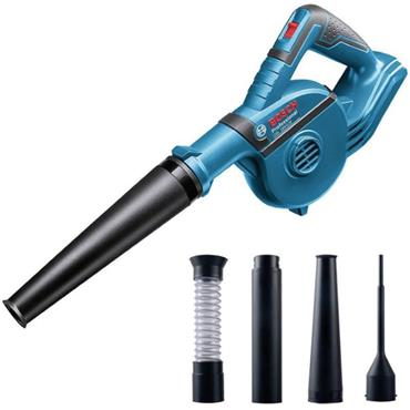 Bosch GBL 18 V-120 18v Professional Blower with 4 Piece Accessories Set (Body Only) In a Carton