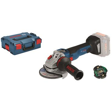Bosch GWS 18 V-10 SC Professional  18V Body Only Angle Grinder In L-BOXX