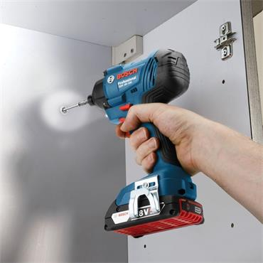 Bosch 18v Brushless Twin Kit, Combi Drill & Impact Driver, 2x 2Ah Batteries, Charger & Carry Case