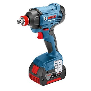 Bosch 18v Brushless Twin Kit, Combi Drill & Impact Driver, 2x 4Ah Batteries, Charger & Carry Case