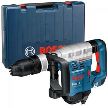 Bosch GSH5CE SDS-Max Demolition Hammer, Vibration Control, Carry Case