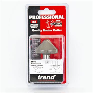 Trend Mortar Groove/Large chamfer cutter 45 degrees - 10/1X1/2TC