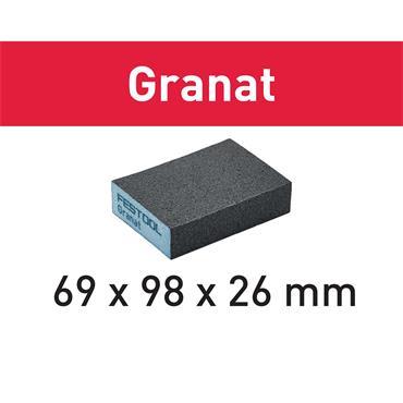 Festool Sanding block 69x98x26 (P36-220) (CO)GR/6 Granat