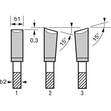 Bosch Speedline wood for hand-held circular saws. 210x2.6x30mm