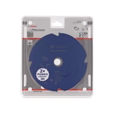 Bosch Professional Circular Saw Blade Expert for Fibre Cement, 190 x 30 x 1.8 mm, 4 Teeth