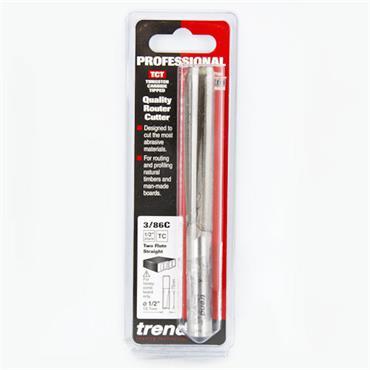 Trend Two flute 12.7mm dia x 75mm cut  - 3/86CX1/2TC