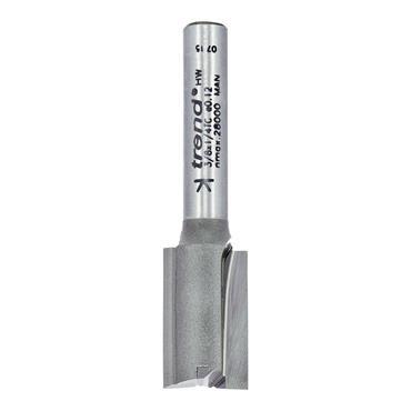 Trend Two flute cutter 12mm diameter - 3/8X1/4TC