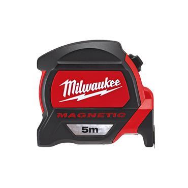 Milwaukee Premium Magnetic Tape Measure 5m (Blade Width 27mm)