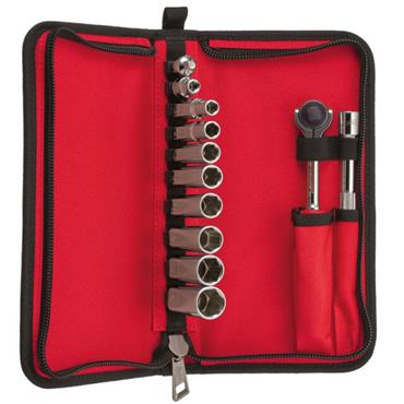 Milwaukee (12 Piece) Tradesman Ratchet Set in Carry Case