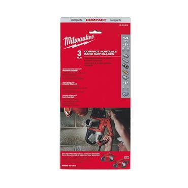 Milwaukee (3.Pk) Compact Band Saw Blades (900 x 12mm 14_TPI)
