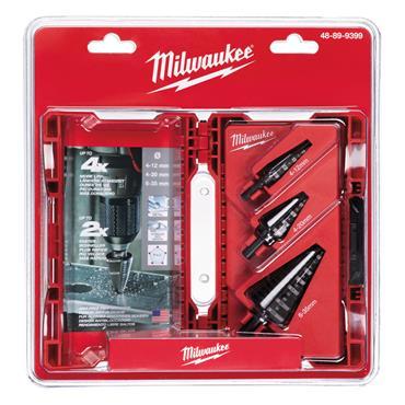 Milwaukee (3 Piece) Step Drill Set