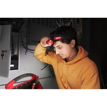 Milwaukee HL2-LED Slim Head Lamp, 3 x AAA Batteries