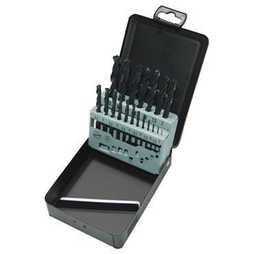 Milwaukee HSS-R DIN 338 (19 Piece)  Metal Drill Bit Set (1 - 10mm Ø)