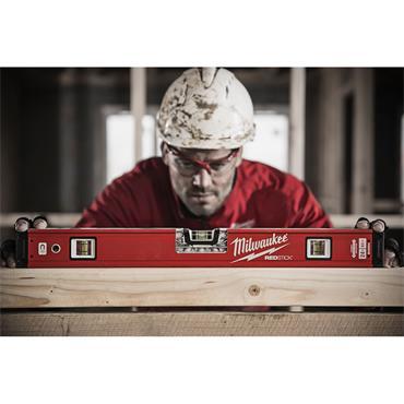 "Milwaukee 24"" (60cm) Redstick Backbone Level"