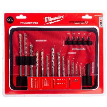 Milwaukee 4932464072 (20) Piece Drill & Driver Bit Set.