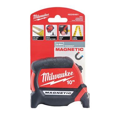 Milwaukee Magnetic Tape Measure 10m (Blade Width 27mm)
