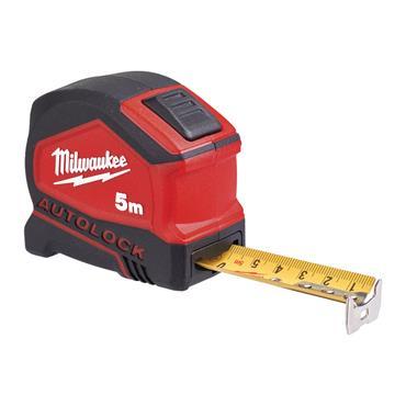 Milwaukee Autolock Tape Measure 5m/16ft (Blade Width 25mm)