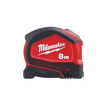 Milwaukee Autolock Tape Measure 8m/26ft (Blade Width 25mm)