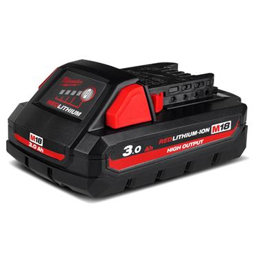 Milwaukee M18HB3 18v 3.0Ah Red Lithium-Ion (High Demand) Battery