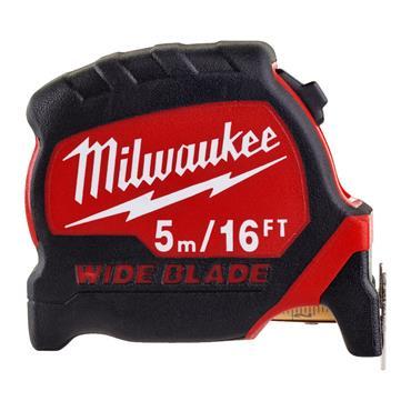 Milwaukee Wide Blade Tape Measure 5m/16ft (Blade Width 33mm)