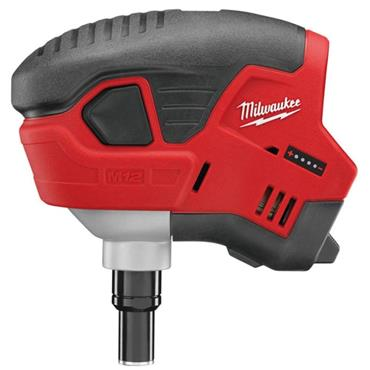 Milwaukee C12PN-0 12v Compact Palm Nailer, (Body Only)