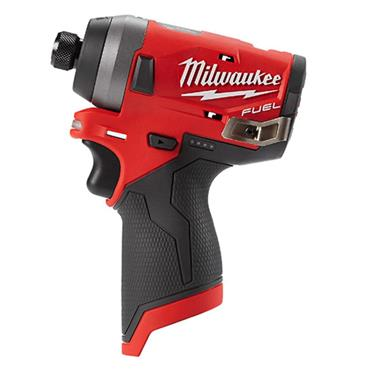 "Milwaukee M12FID-0 12v FUEL? Compact 1/4"" Hex Impact Driver, (Body Only)"