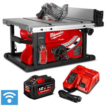 Milwaukee M18FTS210-121B 18v FUEL HP 210mm Table Saw, 1x 12Ah Battery, Charger & Accessories