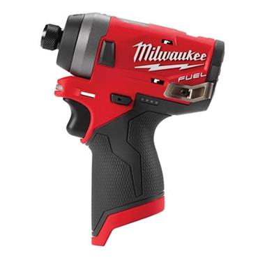 "Milwaukee M12 FQID-0 FUEL Hydraulic 1/4"" Hex Impact Driver."