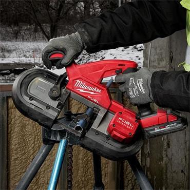 Milwaukee M18FBS85-0 Fuel Compact Bandsaw (Body Only)