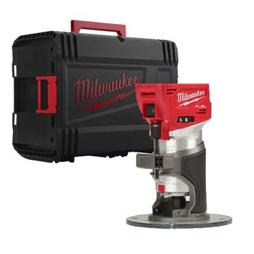 Milwaukee M18FTR-0X 18v FUEL Trim Router Body Only Incl. Accessories