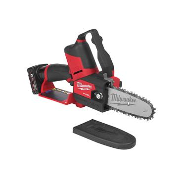Milwaukee M12FHS-602X 12v FUEL Hatchet Pruning Saw, 2x 6Ah Btteries, Charger, Kit-Box