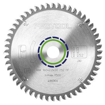Festool Special saw blade 160x2,2x20 TF52