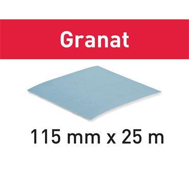 Festool Abrasive roll 115x25m (P120-P800) GR SOFT Granat