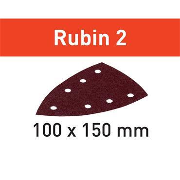 Festool Sanding disc STF DELTA/7 (P40-P220) RU2/10 Rubin 2