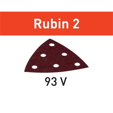 Festool Abrasive Disc STF V93/6 (P40-P220) RU2/50 Rubin 2