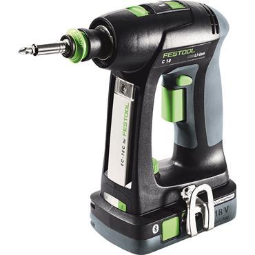 Festool Cordless drill C 18 HPC 4,0 I-Set