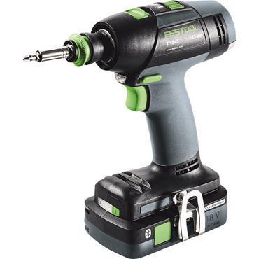 Festool Cordless drill T 18+3 HPC 4,0 I-Set