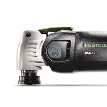 Festool Cordless Oscillator OSC Multitool18 E-Basic VECTURO