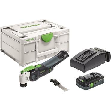 Festool Cordless oscillator OSC 18 HPC 4,0 EI-Plus VECTURO